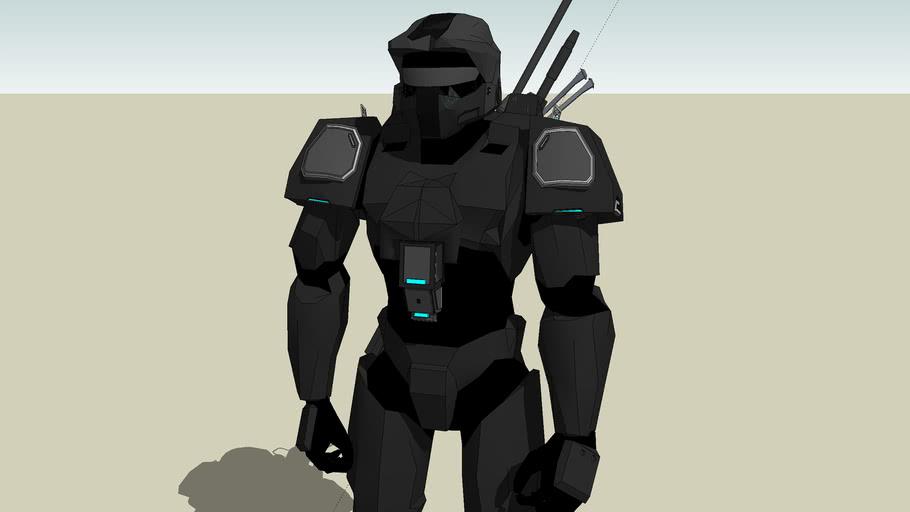 MJOLINIR Mark VII [stealth] Powered Assault Armor