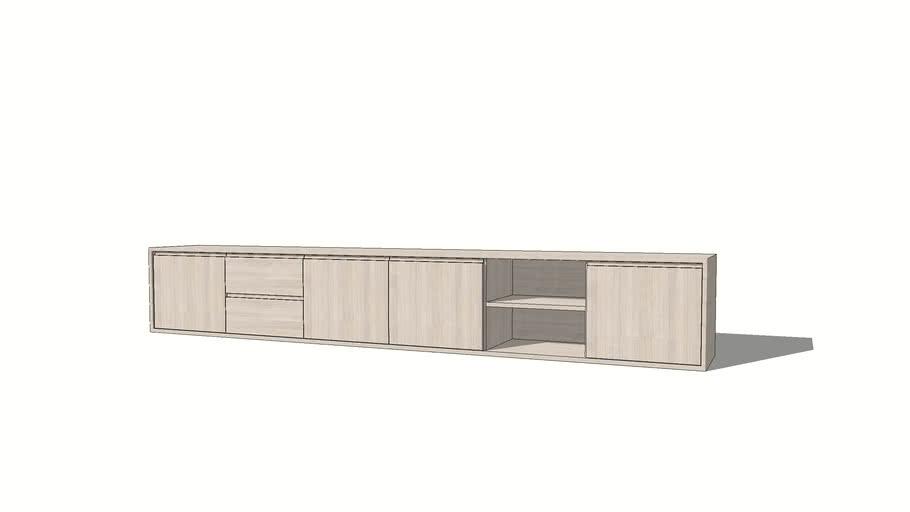 Aurora TV-meubel, AH6F