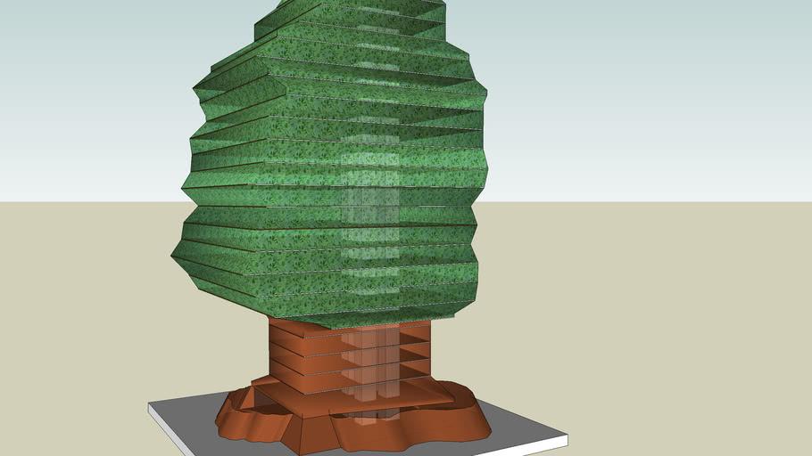 A skyscraper(tree)