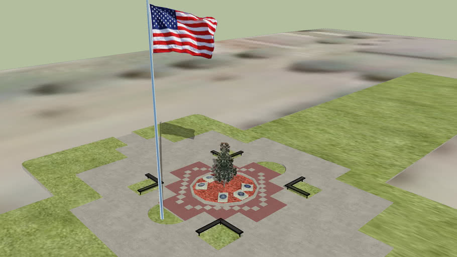 Veterans Walk of Honor - Petal, Mississippi