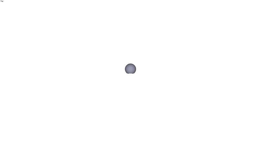Ball knob form C - M5 ext. Ø 20 mm