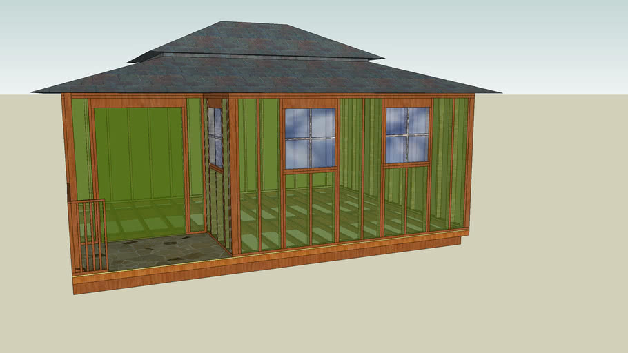 glass shed