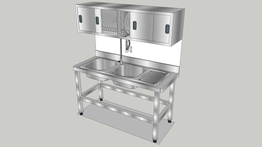 Kitchen Sink 150 Cm