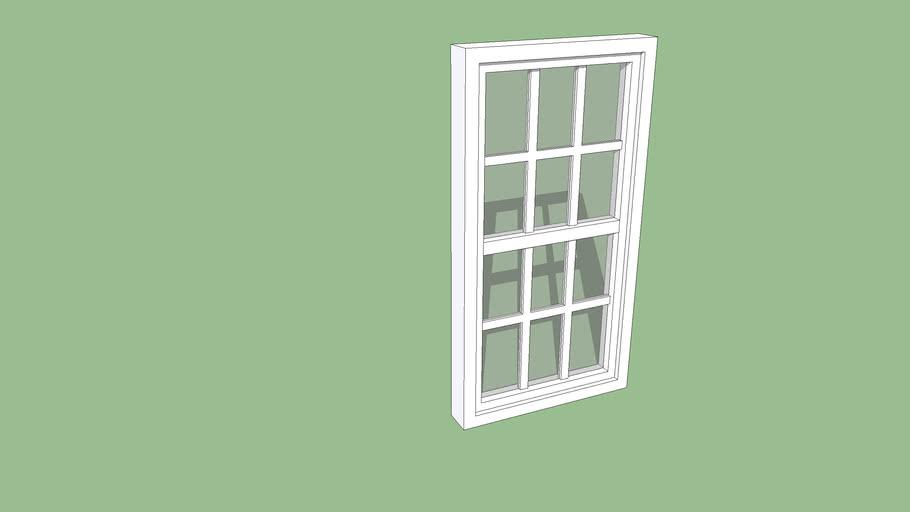 ghost white window