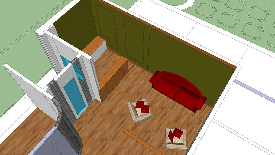 box house new l;obey new desk