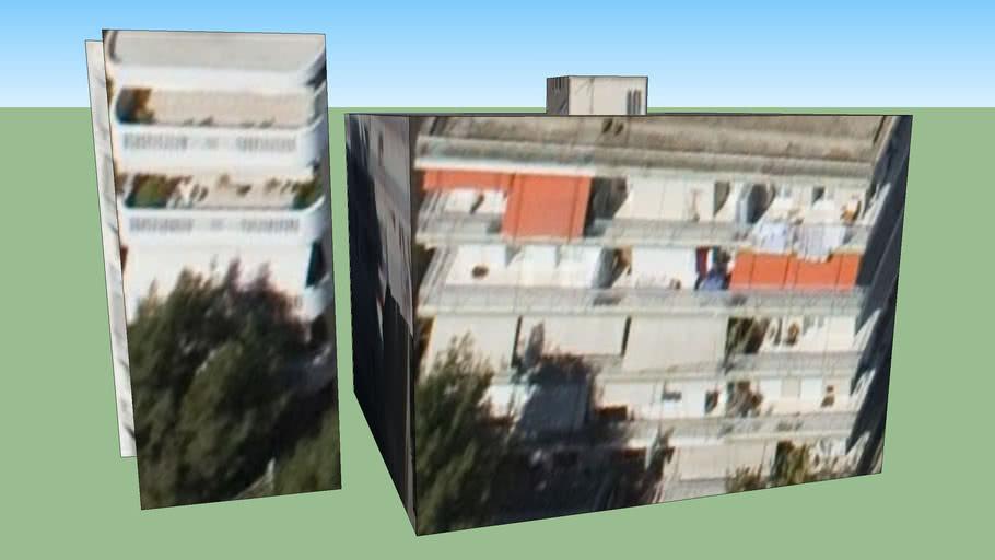 Building in Chaidari, Greece
