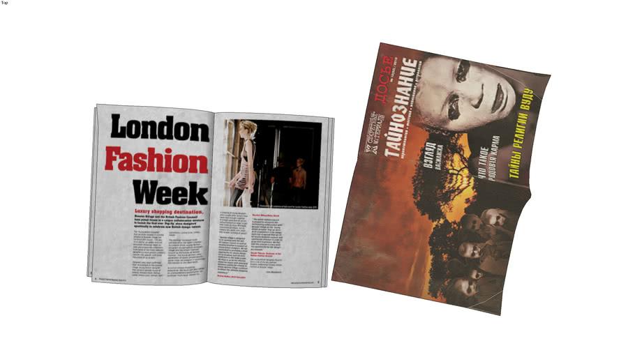 Magazines 2 peaces