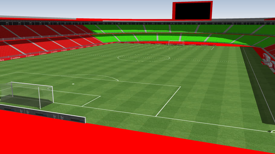 (Estadios Inventados) (Stadium Invented) Estadio ciudad de Gandía.