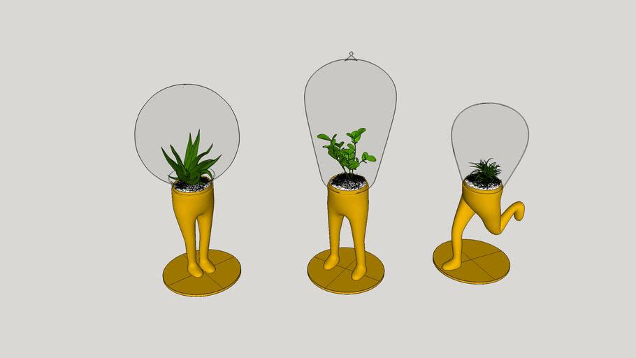 Vaso de flores - 23