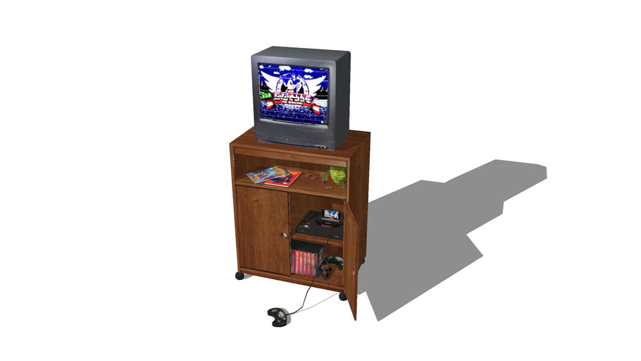 90s Kids Television with Sega Genesis
