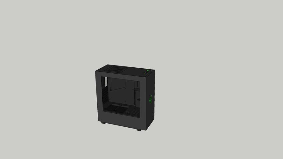 NZXT S340 - Designed by Razer™
