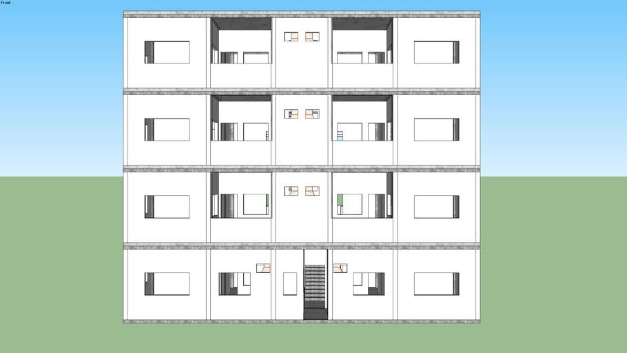 Predio 4 andares 2 Apartamento por andar 09-07-2020 Paulino Matias
