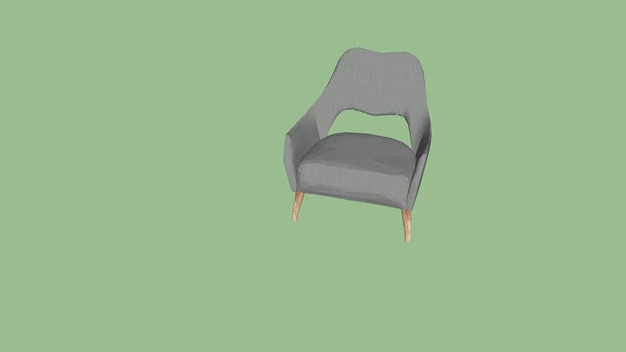 arm chair grey/gray
