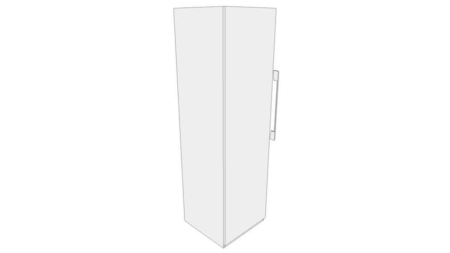600 Wardrobe Module with One Shutter, Three Horizontal Shelves 600X585X2100 CPU_CPUU000315