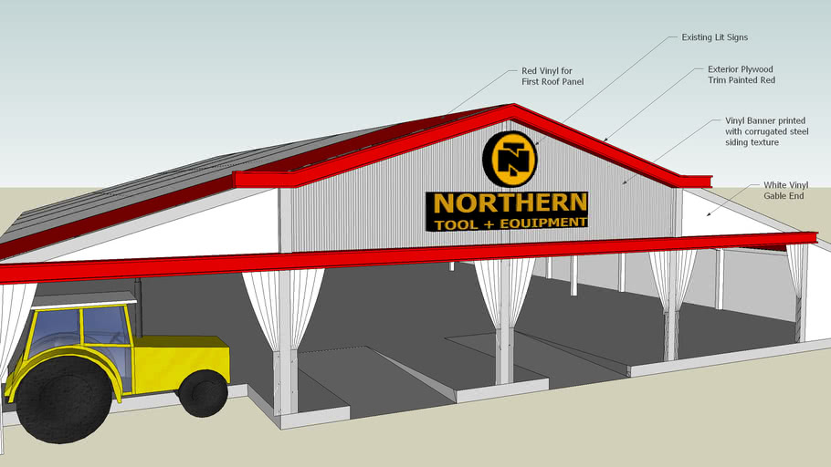Northern Tool Tent