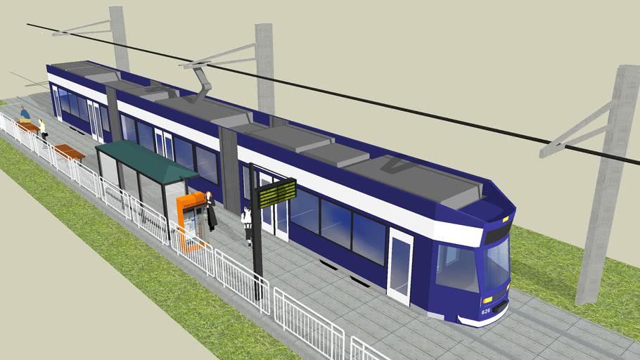 Straßenbahn in Rostock