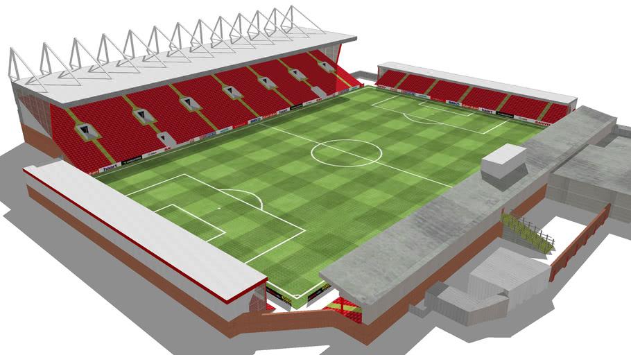 Crewe Alexandra FC - The Alexandra Stadium (Gresty Road)
