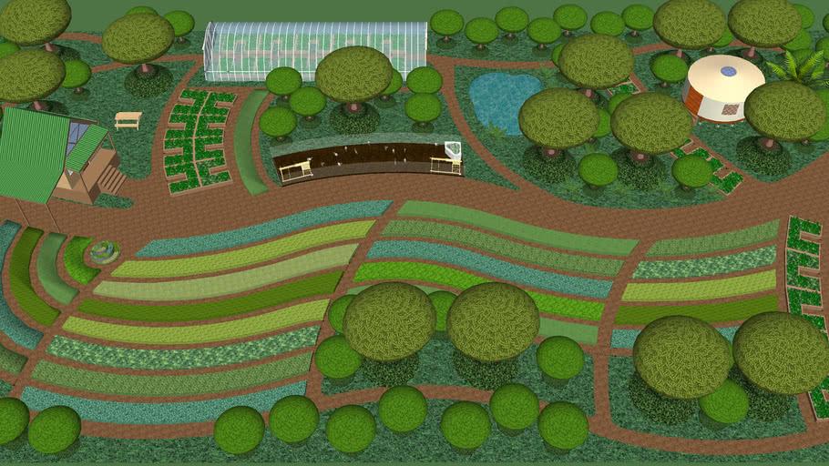 1 acre permaculture farm
