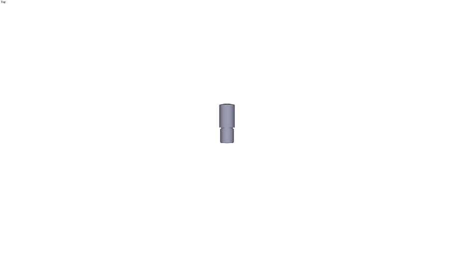 Heel pin Ø14 x 25 mm