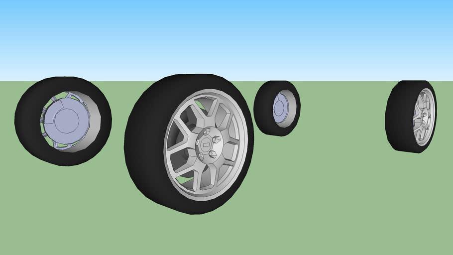 Car wheels 2