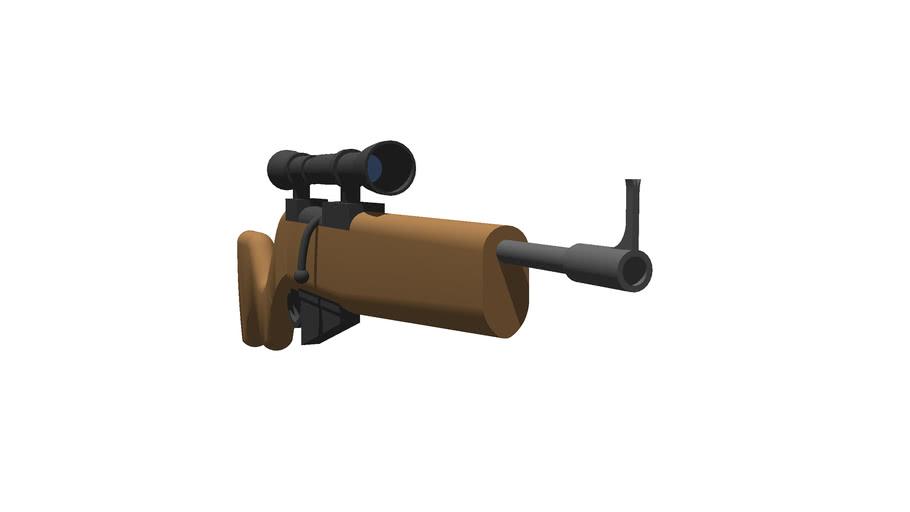 Bolt Action Rifle (Scoped)