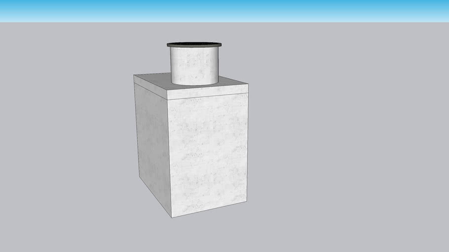 4 x 6 Concrete Cleanout