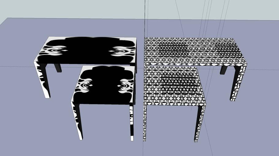 graphic furniture