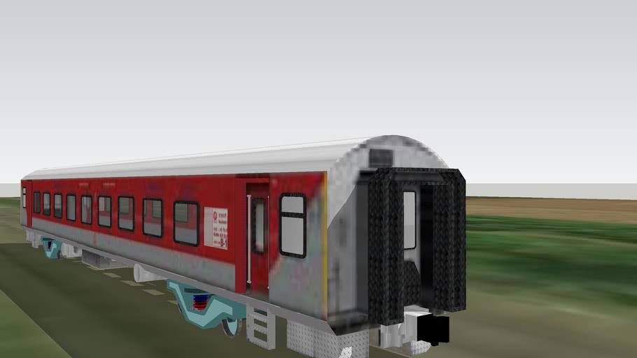 LHB Rajdhani Express Railway Coaches, Indian Railway By Rajat warang