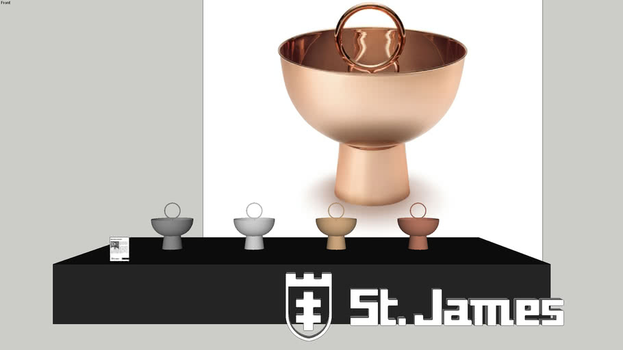 Fruteira Alta Stacks - Código: 3093 - Brunno Jahara para Saint James