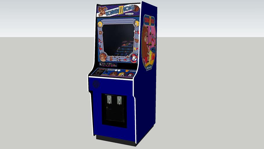 Donkey Kong II arcade game REV.1