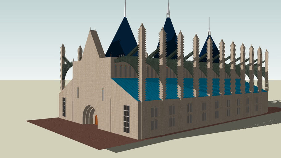 Saint Barbara's Church (A Work In Progress)