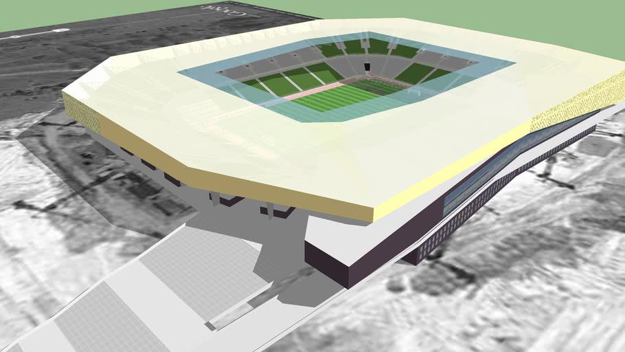 The new stadium Ukraine - Lviv - Euro 2012 Poland Ukraine