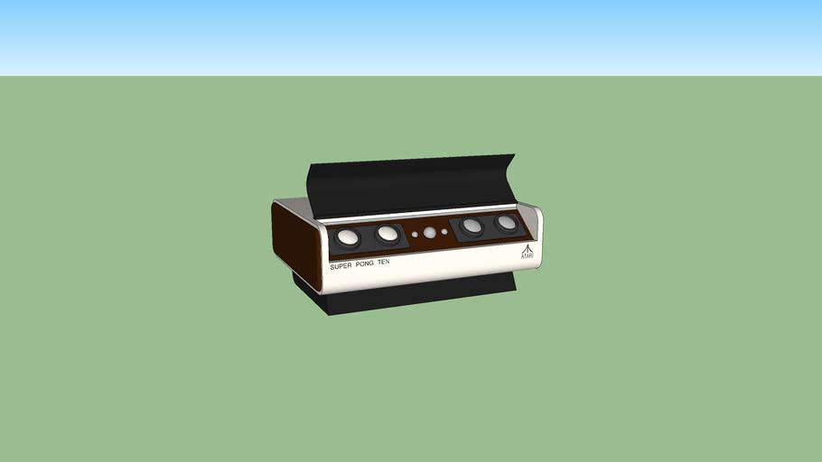 Barney Hueng Atari Pong Ten Console Concept (design one)