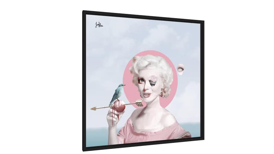 Quadro A morte de Marilyn Monroe (1988) - Galeria9, por Jesso Alves