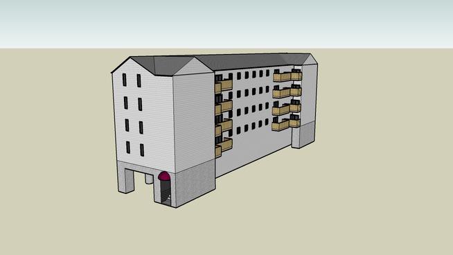 Apartment Building - Five floor