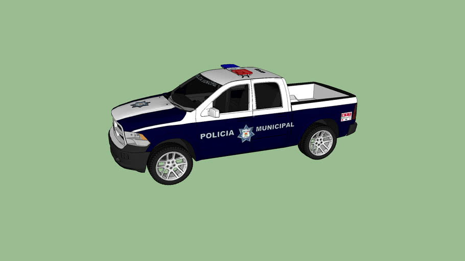 patrulla de la policia municipal
