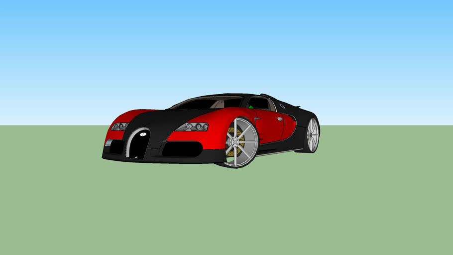 Buggati Veyron RED AND BLACK!!!