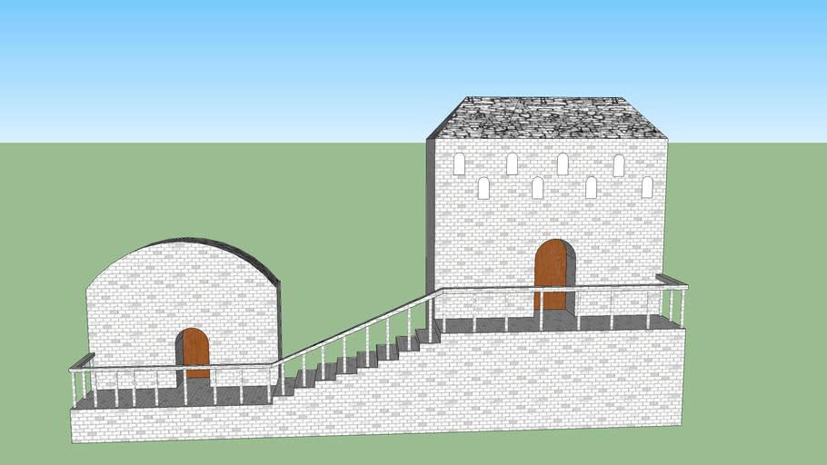 Minas Tirith House Balcony Double