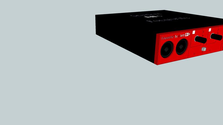 Scarlett 8I6 Focusrite soundcard