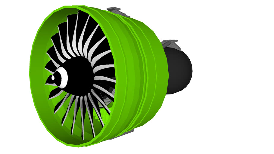 General Electric GE90-115B (Engine By JGB) | 3D Warehouse
