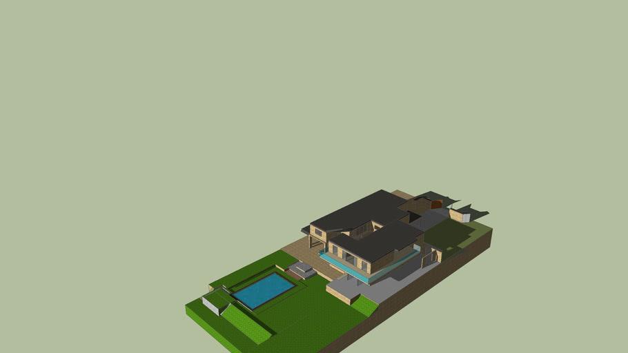 grote villa met mooi zwembad