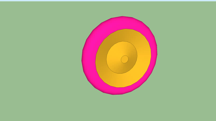 pink/gold proto wheel