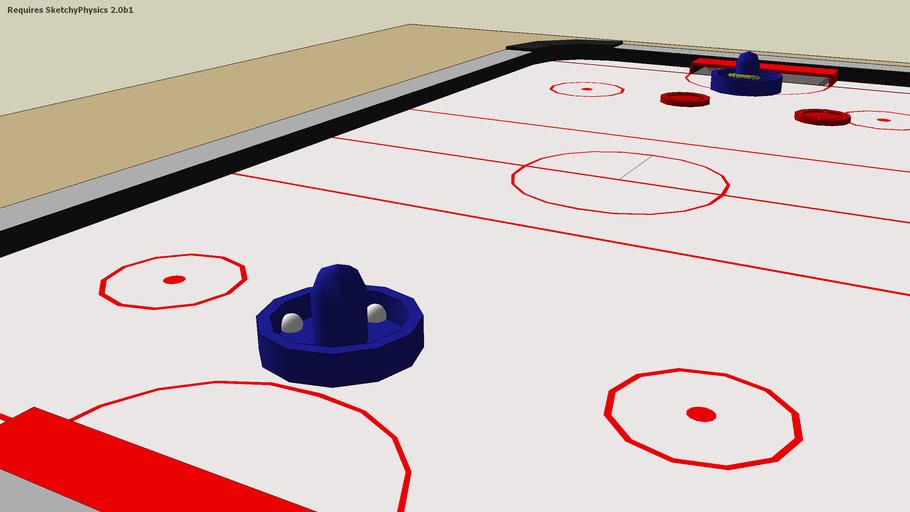 air hockey table sketchyphysics