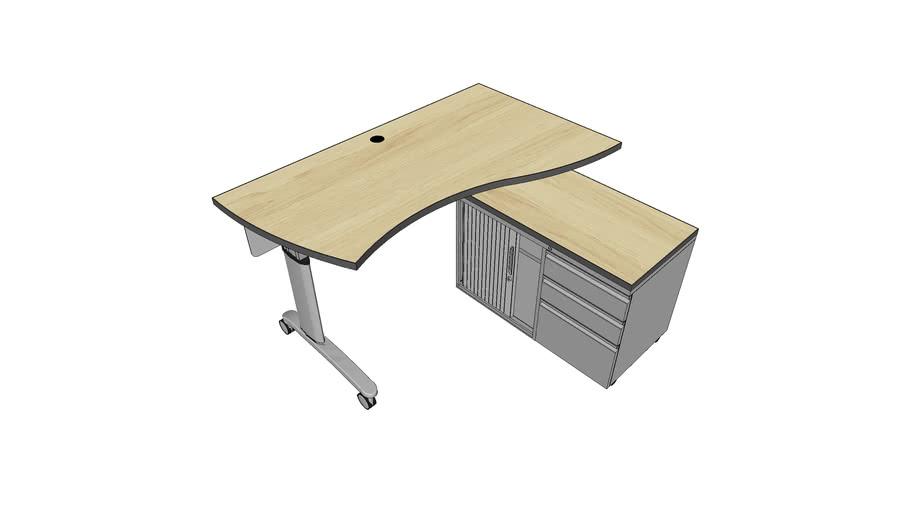 MiEN - Wavy Teacher Desk