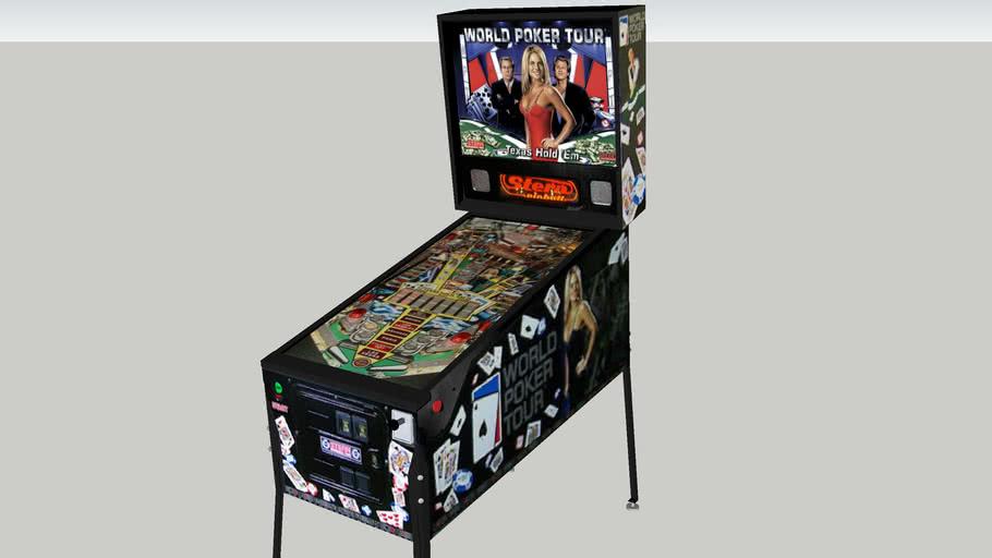 World Poker Tour pinball machine