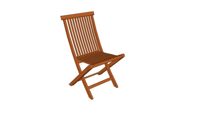 Cadeira Dobrável Anatômica