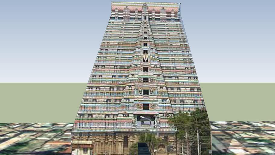 SriRangam Raja Gopuram