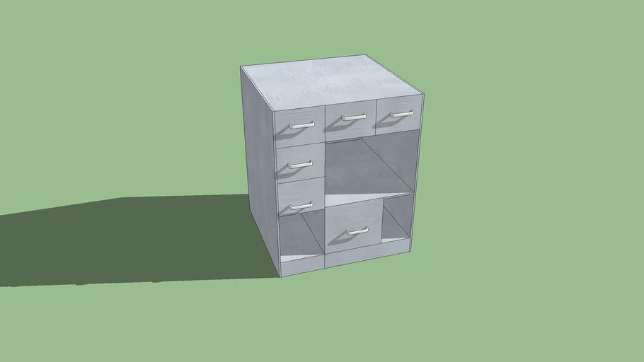 mueble cuadrado