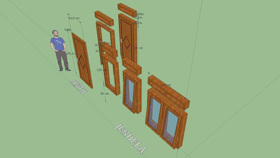 Pintu dan Jendela