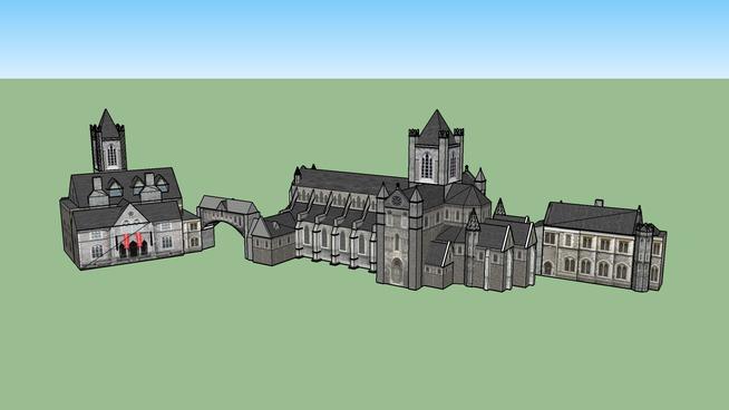 Christ Church Cathedral, Christchurch Place, Dublin 8, Ireland